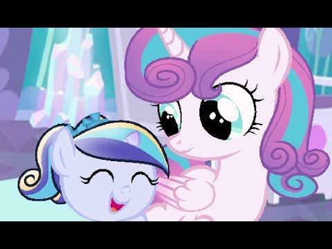 Mlp Speedpaint: Flurry Heart And Her Little Sister