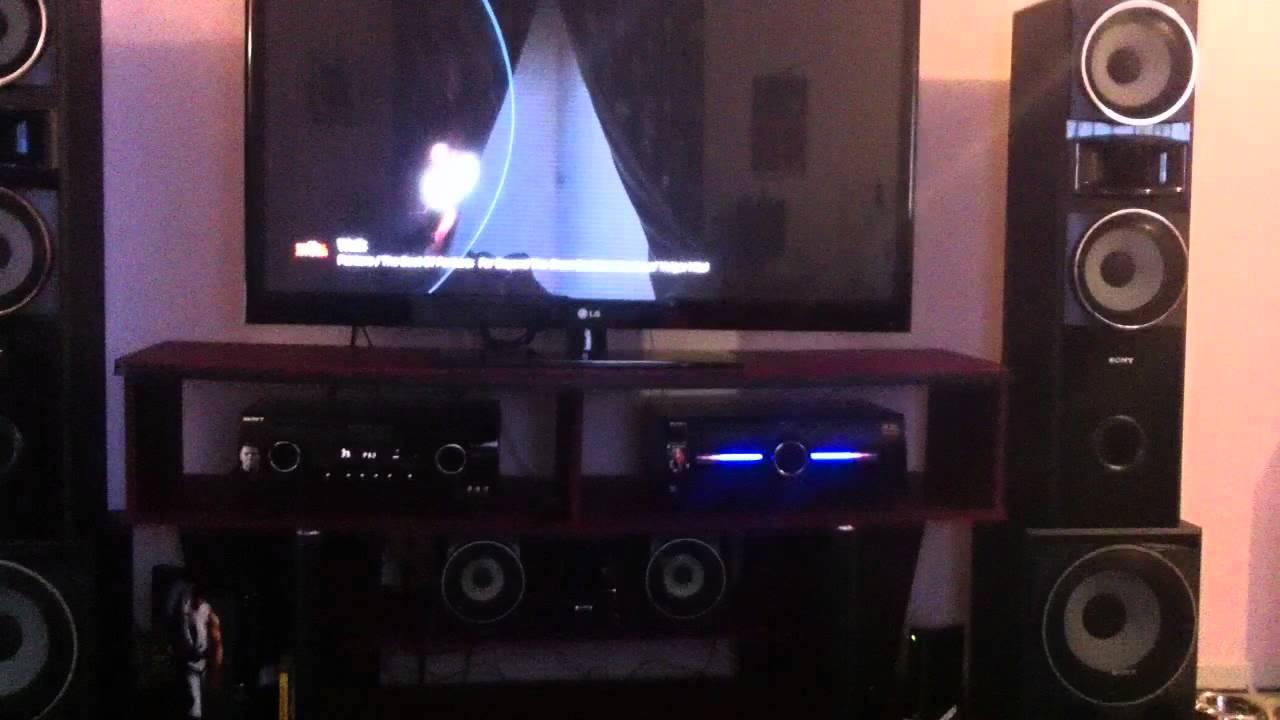 Sony Muteki 7 2 Htddw7600 Home Theatre 50 Quot Lg Plasma Ps3