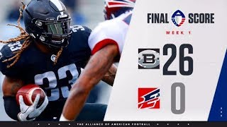 Birmingham Iron Vs. Memphis Express | AAF Week 1 Highlights | HD