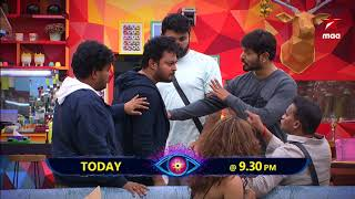 House mates on fire tonight 🔥  BiggBossTelugu2 Tonight at 9:30 PM