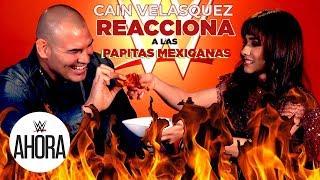 Cain Velasquez REACCIONA a papitas mexicanas: WWE Ahora, Dec 30, 2019
