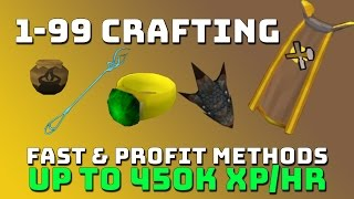 1-99 Crafting Guide [Runescape 3] Fast & Profitable Methods