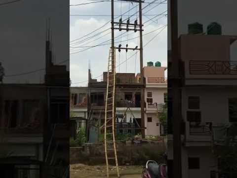 Allahabad Electricity  sparking Transformer blast Allahabad