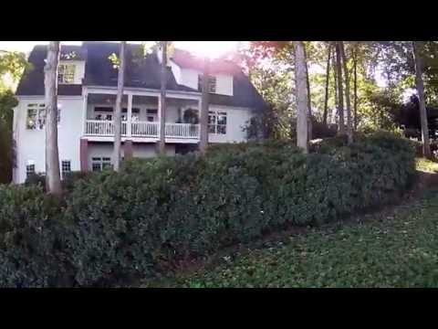 FILMING REAL ESTATE with DJI. Southern Living Cottage at Lake Oconee , Georgia