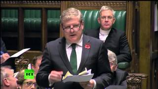 """Total travesty & farce"" Angus Robertson dismisses Scotland Bill proceedings"