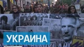Во Львове прошел парад вышиванок в честь дивизии СС