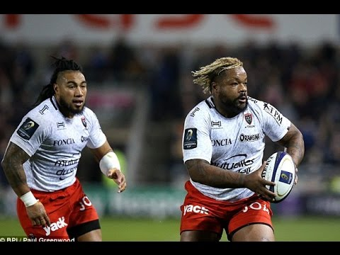 Bastareaud carrying like a bull vs Sale Sharks