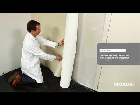 Видеоинструкция по поклейке текстильных обоев