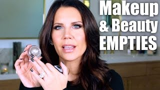 MAKEUP & BEAUTY PRODUCT EMPTIES