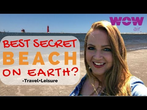 Best Secret Beach on Earth? | Visit Grand Haven Michigan on a Budget