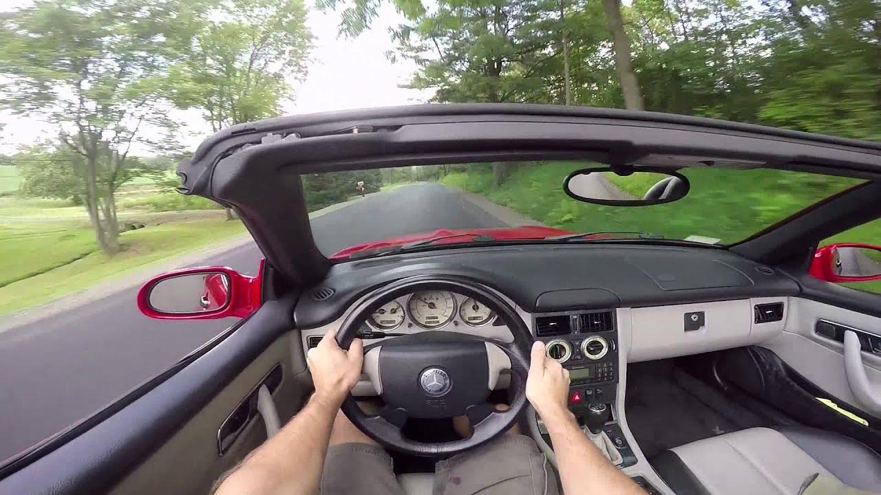 2000 Mercedes Slk230 Kompressor Pov Drive Youtube