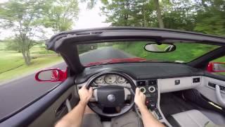 2000 Mercedes SLK230 Kompressor: POV Drive