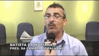 Palhano Sessão Solene 54 Anos de Emancipação Entrevistas