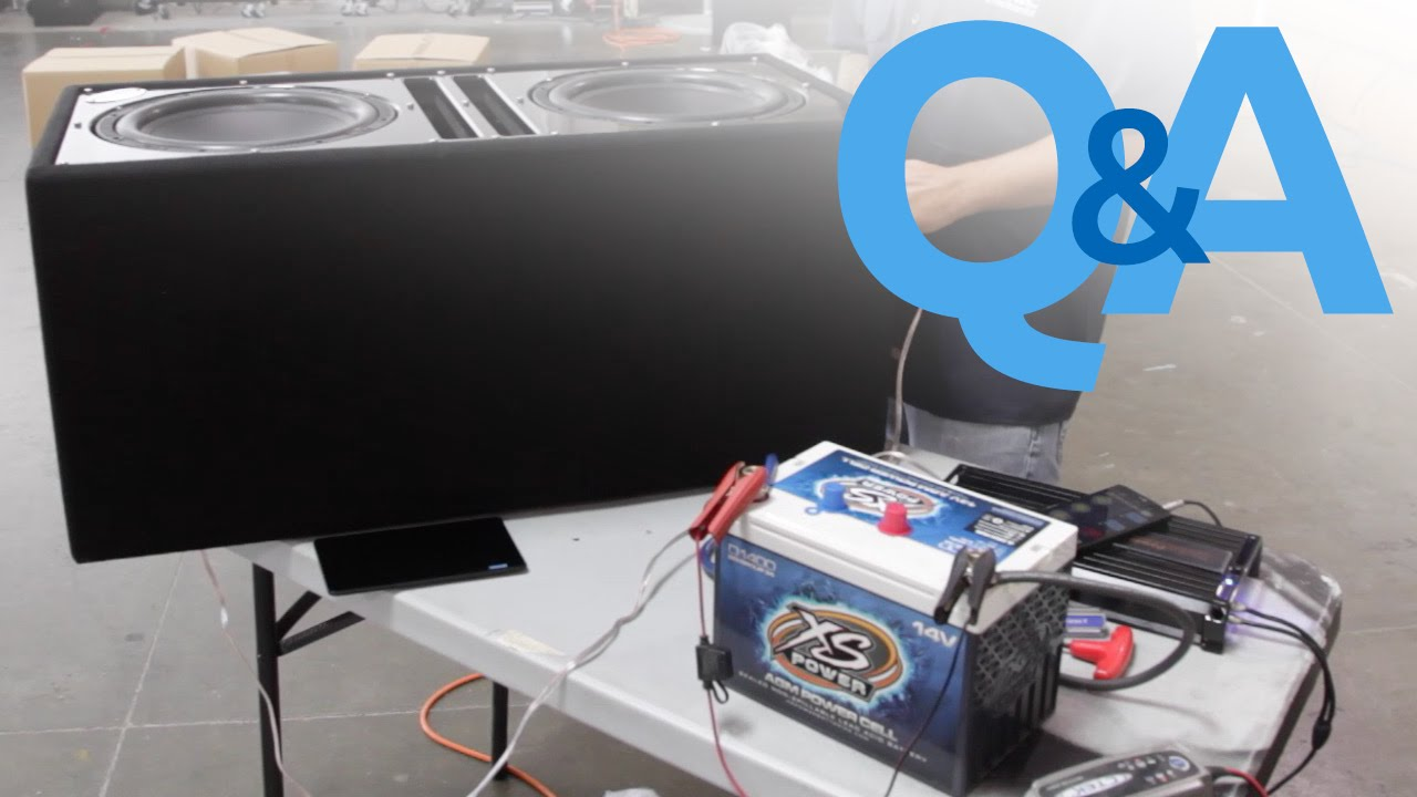 i m not getting much output from my subwoofers car audio q a [ 1280 x 720 Pixel ]