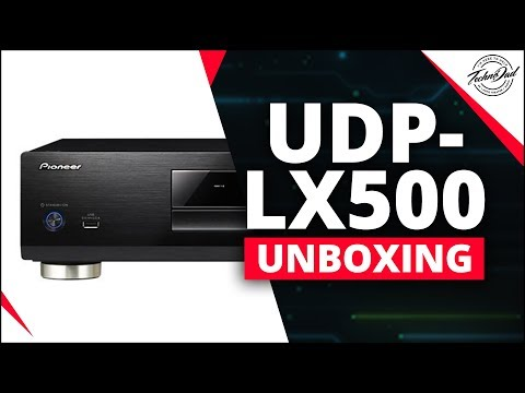 Pioneer UDP-LX500 Unboxing & Overview | Best 4K Blu Ray Player of 2018? Mp3