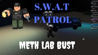 Roblox Ultimate Driving | POLICE| Ep.8 S.W.A.T! Drug BUST! Swat Patrol