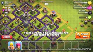 Clash Of Clans#3 Tre attacchi in 15 minuti,wow!