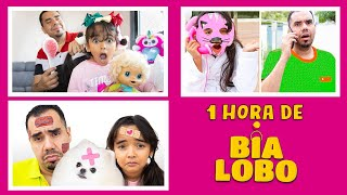 BIA LOBO 1 HORA DE VIDEO COM PAPAI