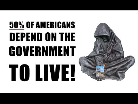DEPRESSION! 50% Of Americans Now Receive Federal Benefits!