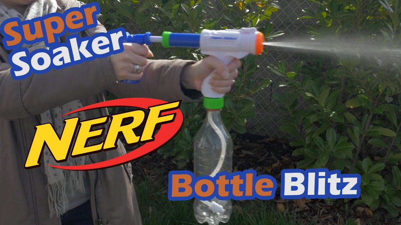 d mo du nerf super soaker bottle blitz eau en fran ais fr youtube. Black Bedroom Furniture Sets. Home Design Ideas