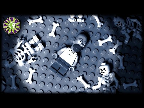 Generate Lego Halloween Zombies, Ghosts and Ned Flanders in Homer Simpson Nightmare Images