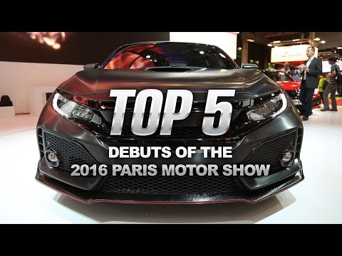Top 5 Best Debuts of the 2016 Paris Motor Show