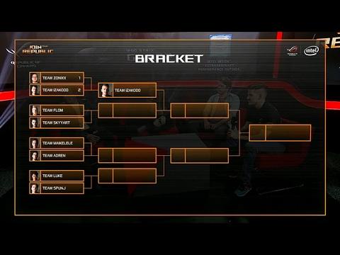 JTR - Day 1 (Playoffs) - Team USA (Team flom) vs Team France (Team Skyyart) - Game 1 | ROG