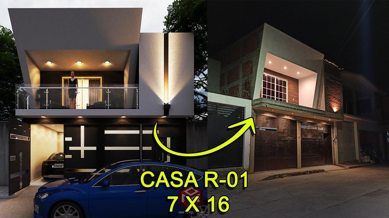 AVANCES DE OBRA, CASA R-01 / 7 X 16 METROS