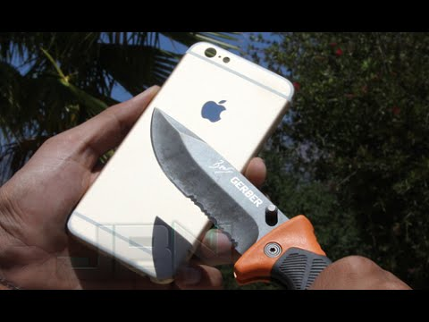 official photos 3b487 e1c04 iPhone 6 Scratch Test & Knife Test, First Look At iPhone 6