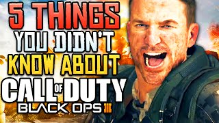 5 AMAZING Things You Didn't Know About Black Ops 3!!