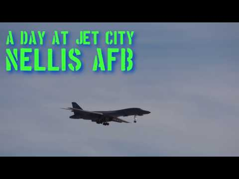 Busy Day at Jet City - Nellis AFB - 5 Dec 2016
