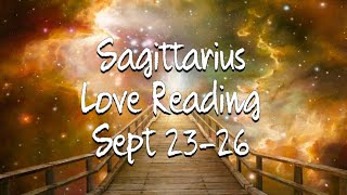 "Sagittarius Sept 23-26 ""This situation has definitely frustrated you"""