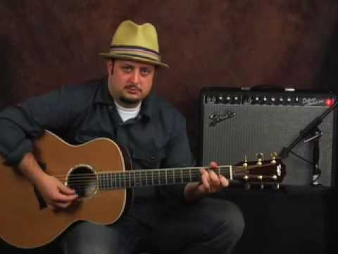 bluegrass guitar  How to play Acoustic Bluegrass guitar easy beginner lesson - YouTube