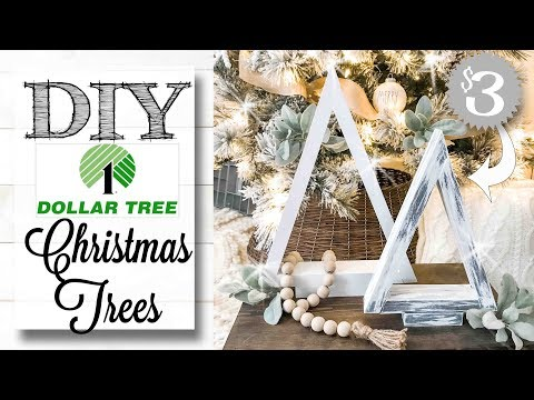DIY Dollar Tree 🌲 Christmas Trees | ONLY $3!!!!