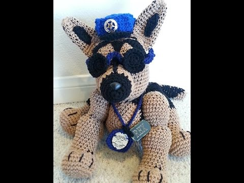 German Shepherd PDF Crochet Pattern | Craftsy |Crochet German Shepherd
