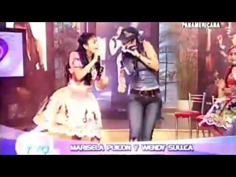 Wendy Sulca con Maricela Puicón - Solterita/Perdóname (TVO Hoy | Panamericana TV)