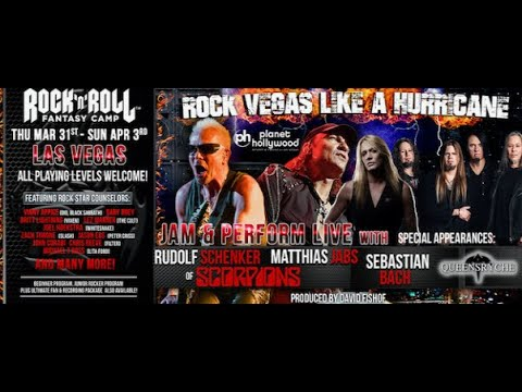 Rock 'N' Roll Fantasy Camp w/Scorpions + members from Dio/The Cult/Queensryche and more!