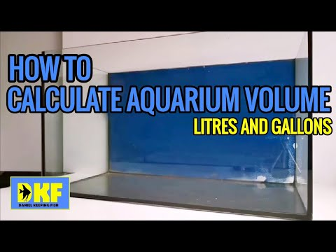 How To Measure Your Aquarium.