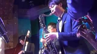 長く短い祭 結婚式バンド演奏20160924@銀座NB ClubNBClub.