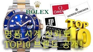 명품 시계 브랜드 신뢰…