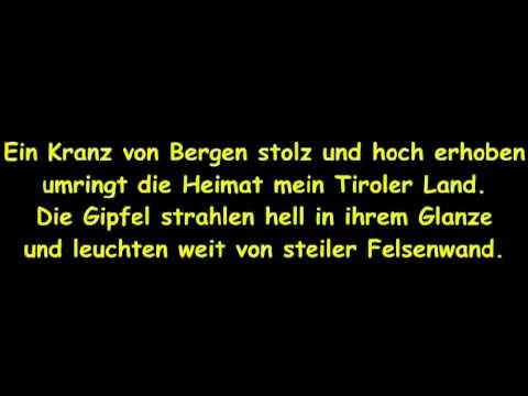 Dem Land Tirol die Treue GCFB mit Text