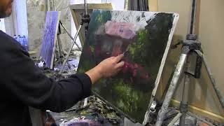 Игорь Сахаров, научиться писать маслом, работа с фотоматериала