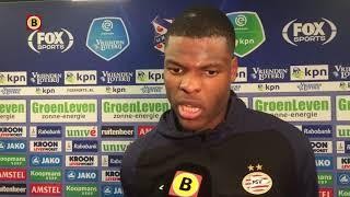 PSV'er Denzel Dumfries baalt als een stekker na gelijkspel in Heerenveen