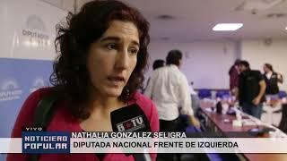 Audiencia pública por Ley de pauta oficial: Trabajadores/as de Telam por sus fuentes de trabajo