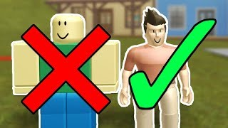 ROBLOX ANTHRO UPDATE REACTION!! (New R30 Human Roblox Avatar Model)