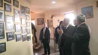 Արմեն Սարգսյանը Գյումրիում այցելել է «Շալե Գյումրի» կենտրոն