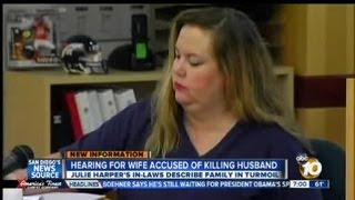 Hearing held for wife accused of killing school teacher husband