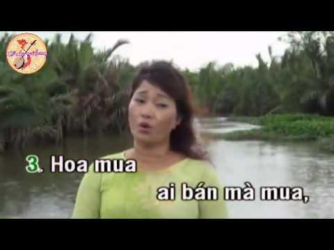 Hoa mua trắng   KaraOke   conhacquehuong com   YouTube
