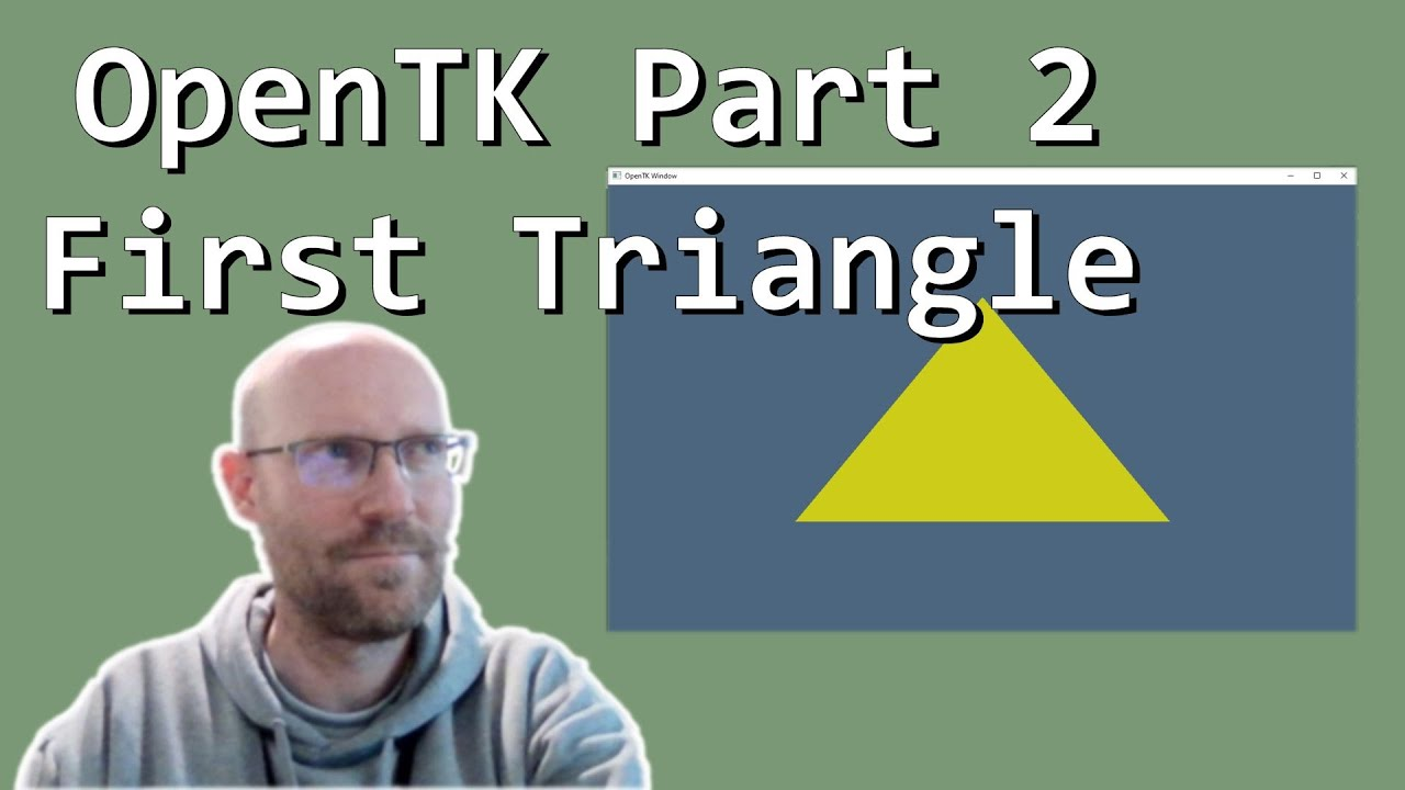 Download Basic OpenTK part 2 - First Triangle