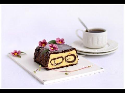 Рецепт Десерт - манный, Весь в шоколаде